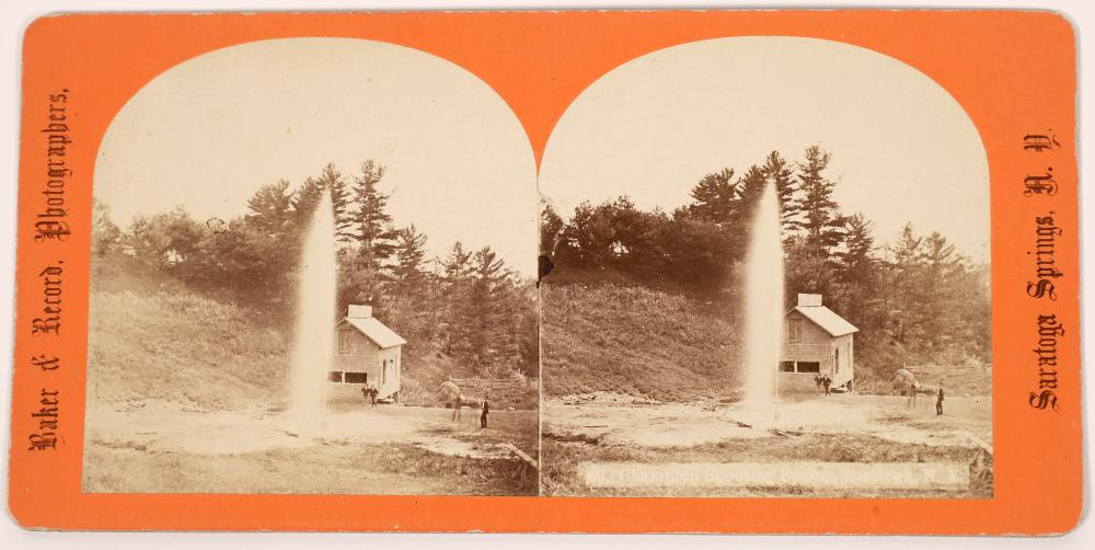 Champion Spouting Springs Stereo View [139309]