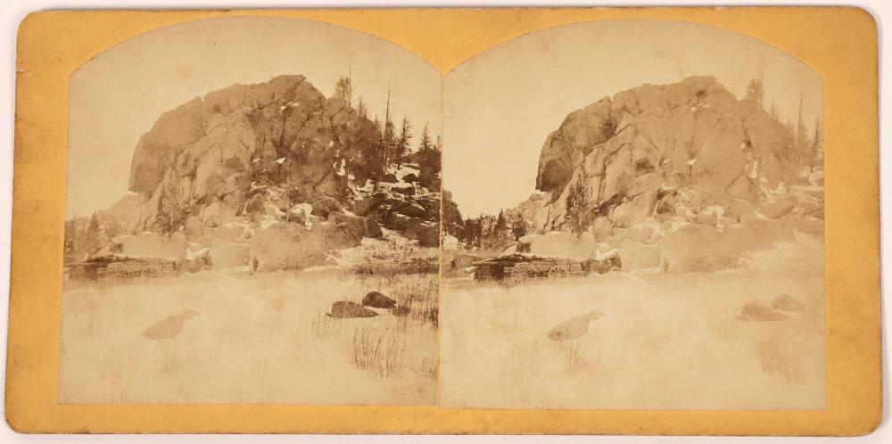 Backbone of the Black Hills Stereo View [139310]