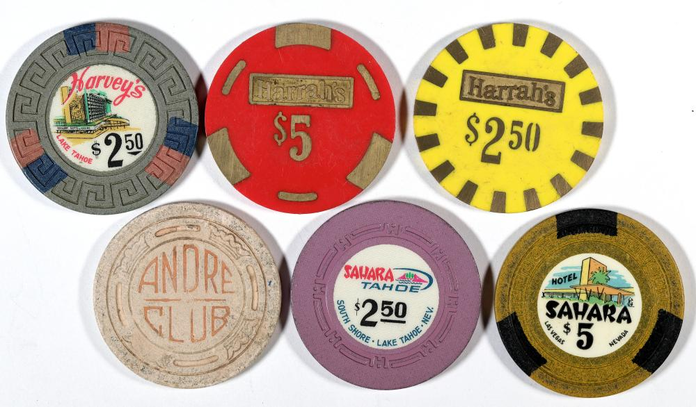 Casino Gaming Chips [136177]