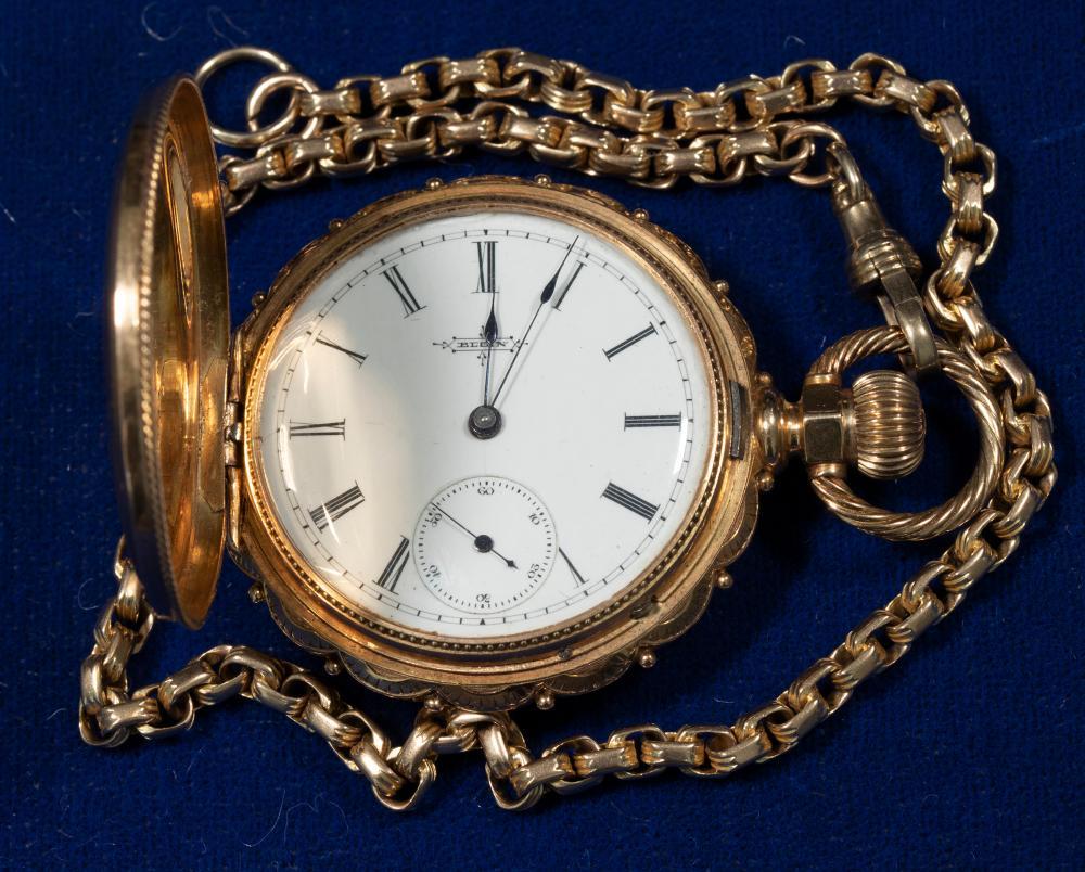 Vintage Elgin Pocket Watch [140352]
