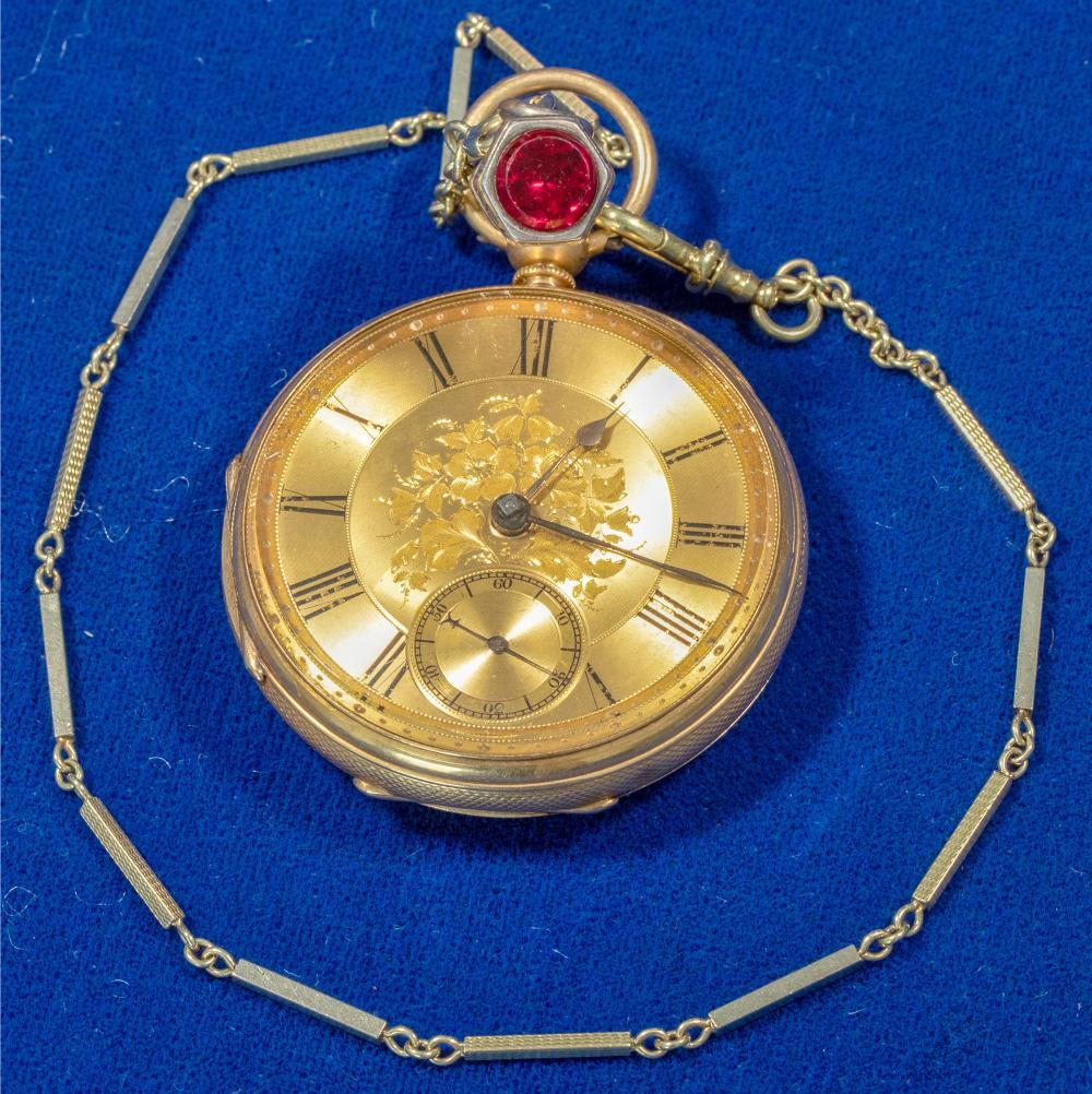 C.F. MAGRATH 18K Gold Pocket Watch [140354]
