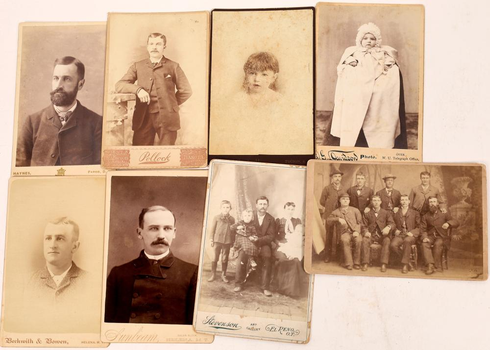 Territorial Cabinet Card Collection [139262]
