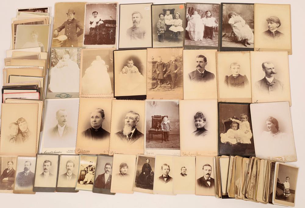 United States Cabinet Card and Carte de Visite Portrait Collection [139268]