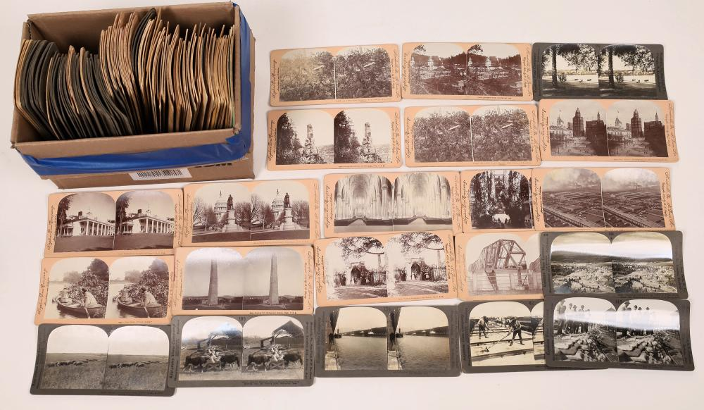 Stereo View Card Collection Midwest to Eastern United States [139774]