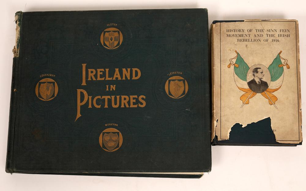 Ireland in Photos 1898 and The Sinn Fein Movement of 1916 in Books [140021]