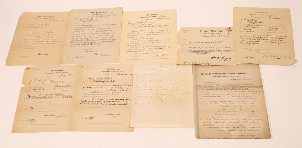 Civil War Payment Claims (8) [139214]