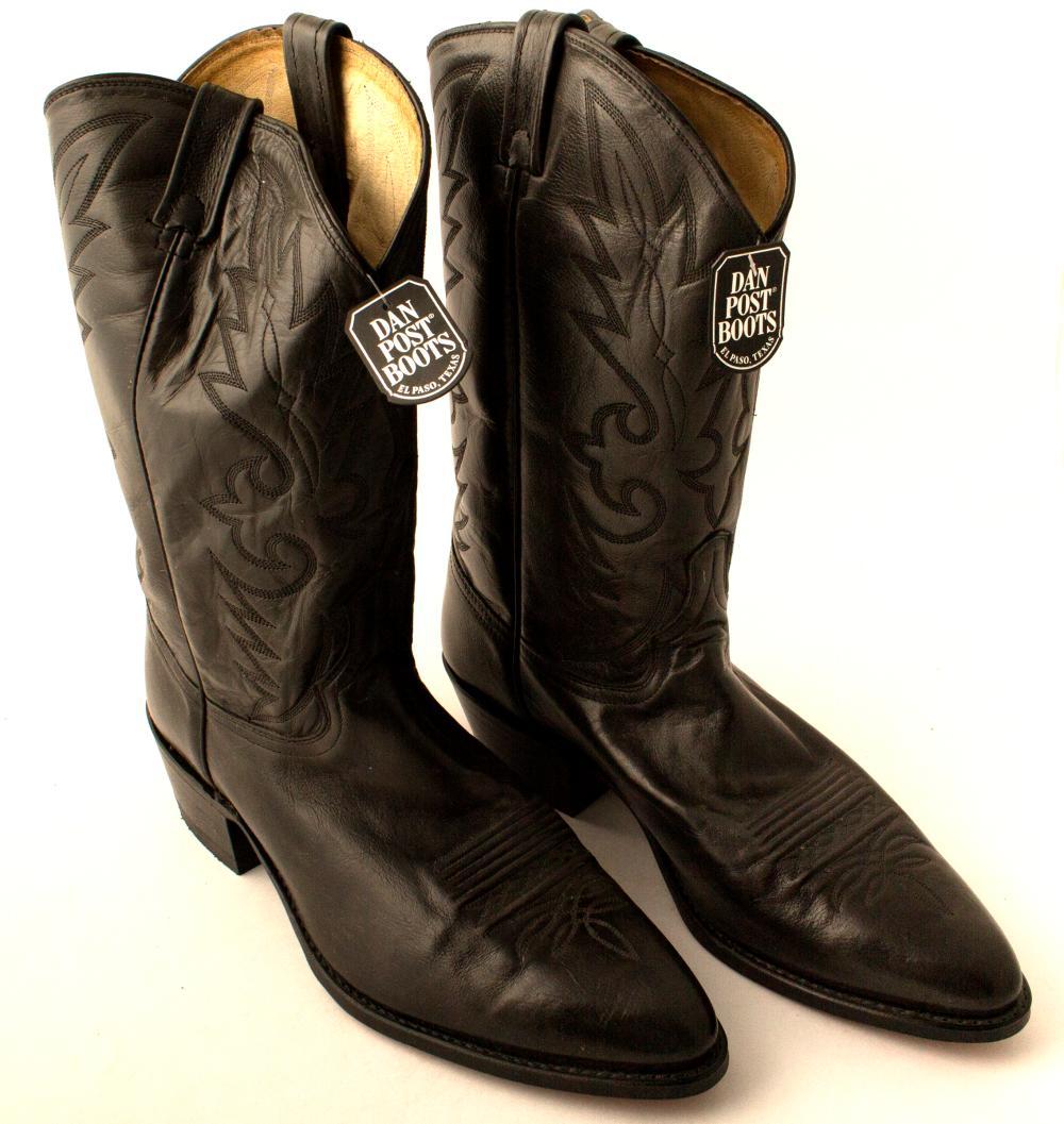 Black Dan Post Corona Boots   (49939)