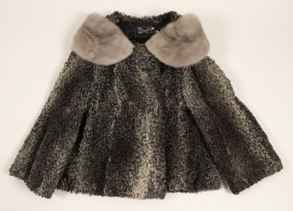 Jacket, (Ladies,Vintage Russian Lamb)   (91339)