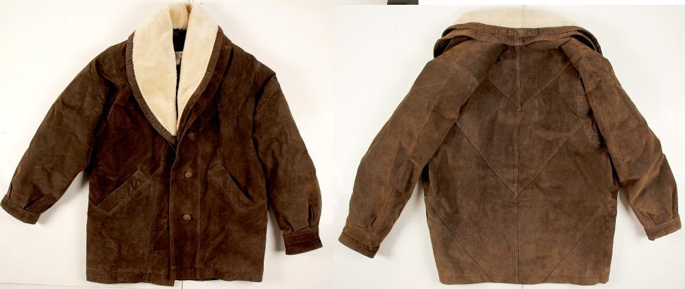 Suede Jacket for Men   (76230)