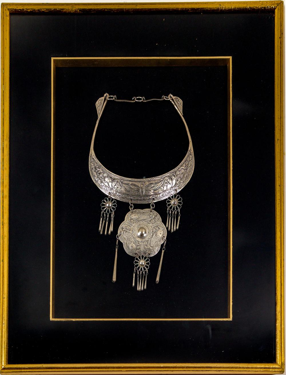 Lot 1025: Necklace (Beautifully Framed) (106235)