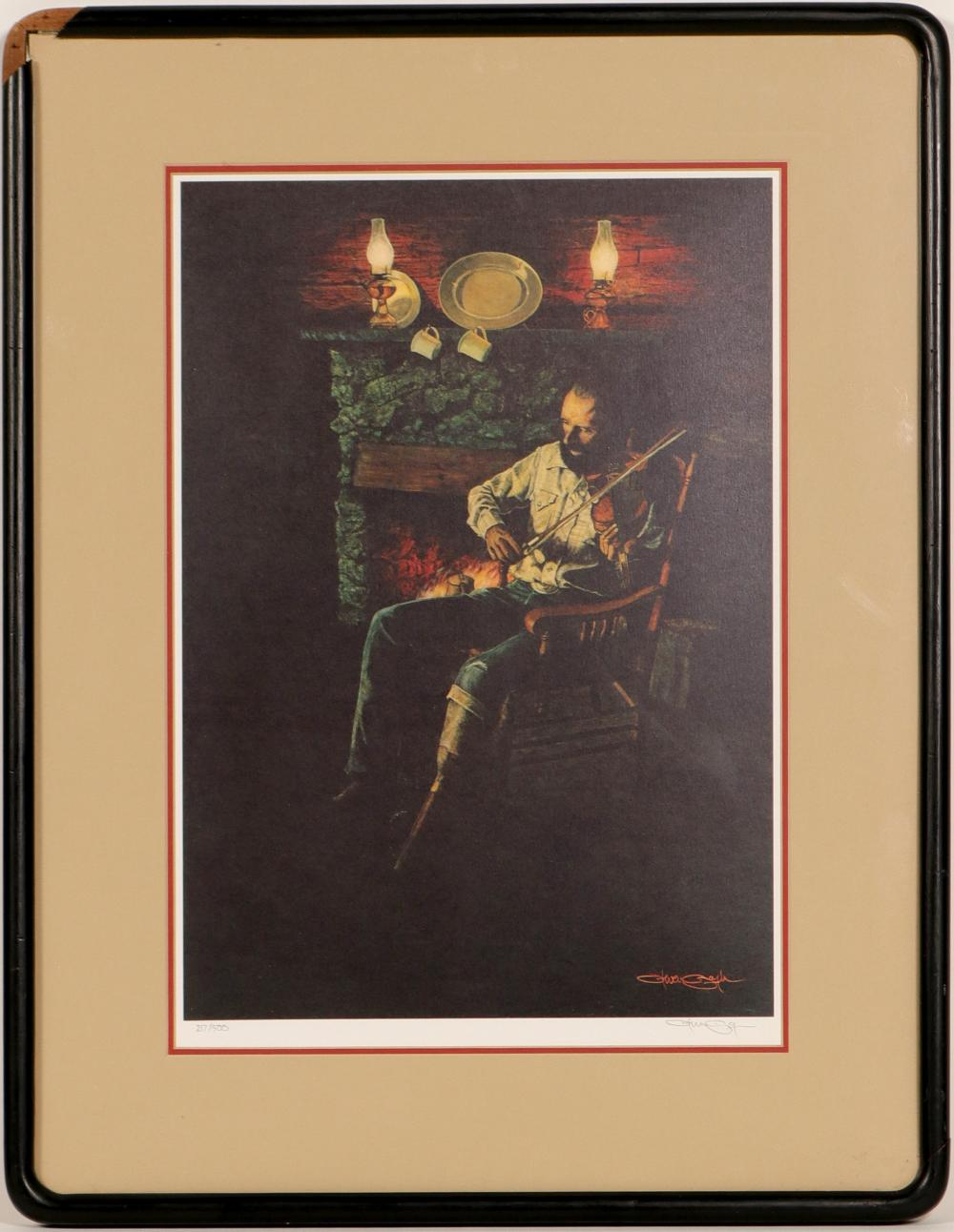 "Lot 1044: Print / "" With Spirit"" / By Steven Saylor. (105375)"