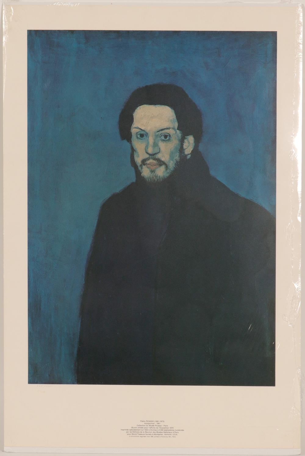 "Lot 1051: Print / Pablo Picasso / The "" Blue Period"" (105370)"