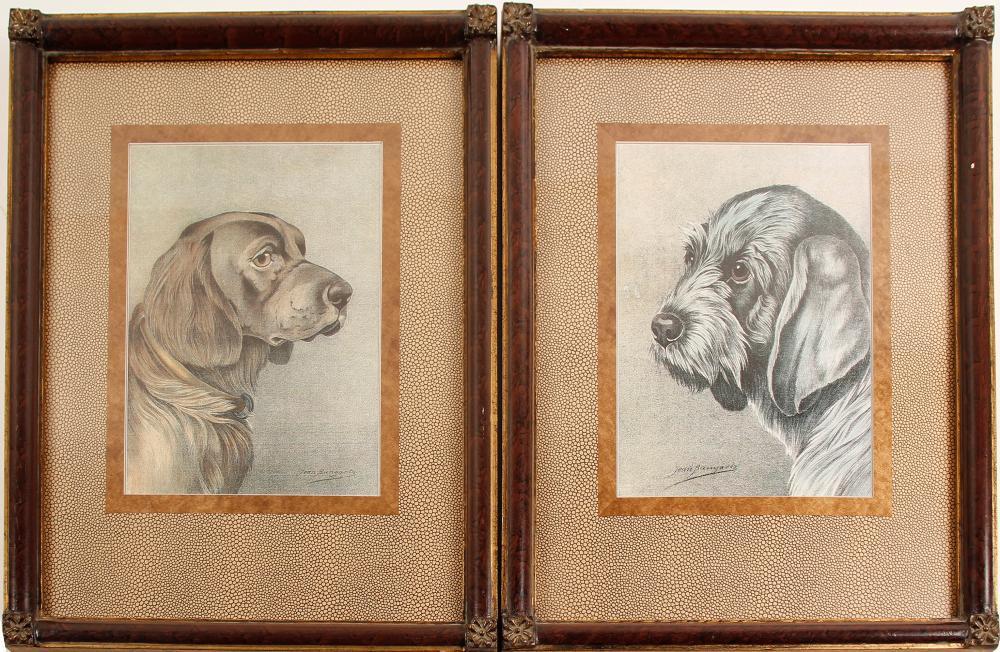 Prints by Jean Bungarta (2)   (86840)