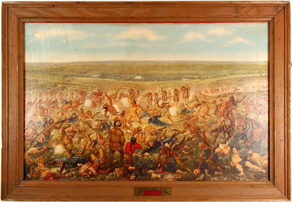 """Custer's Last Fight"" Print   (86803)"