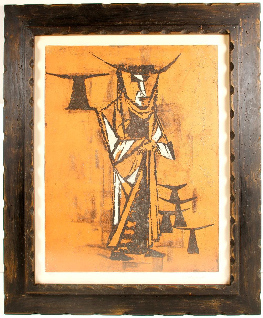 The Devil God Print by N.D. Chenjung-Gi   (76677)