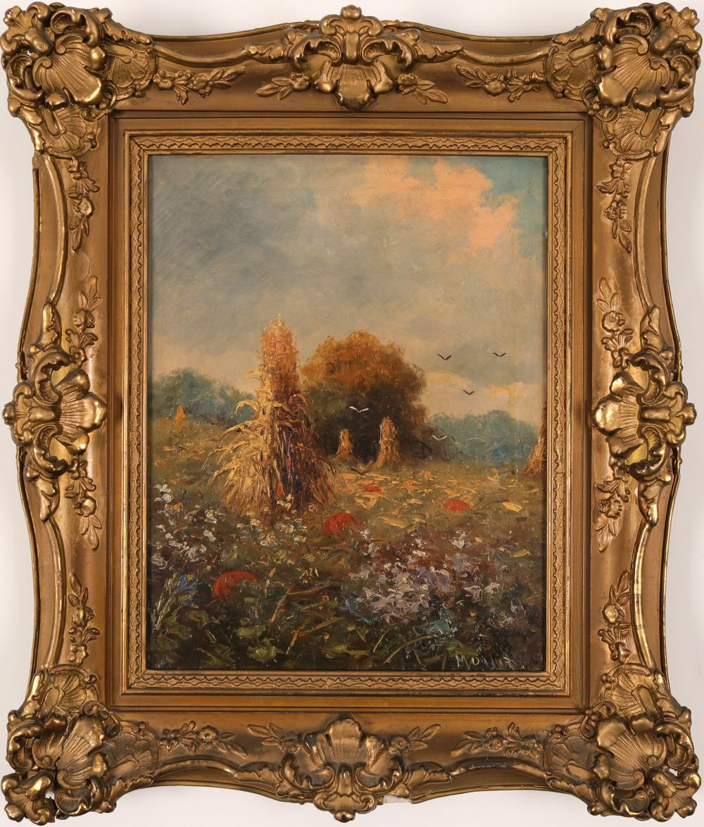 Oil Painting, signed by Peter Moyer   (91524)