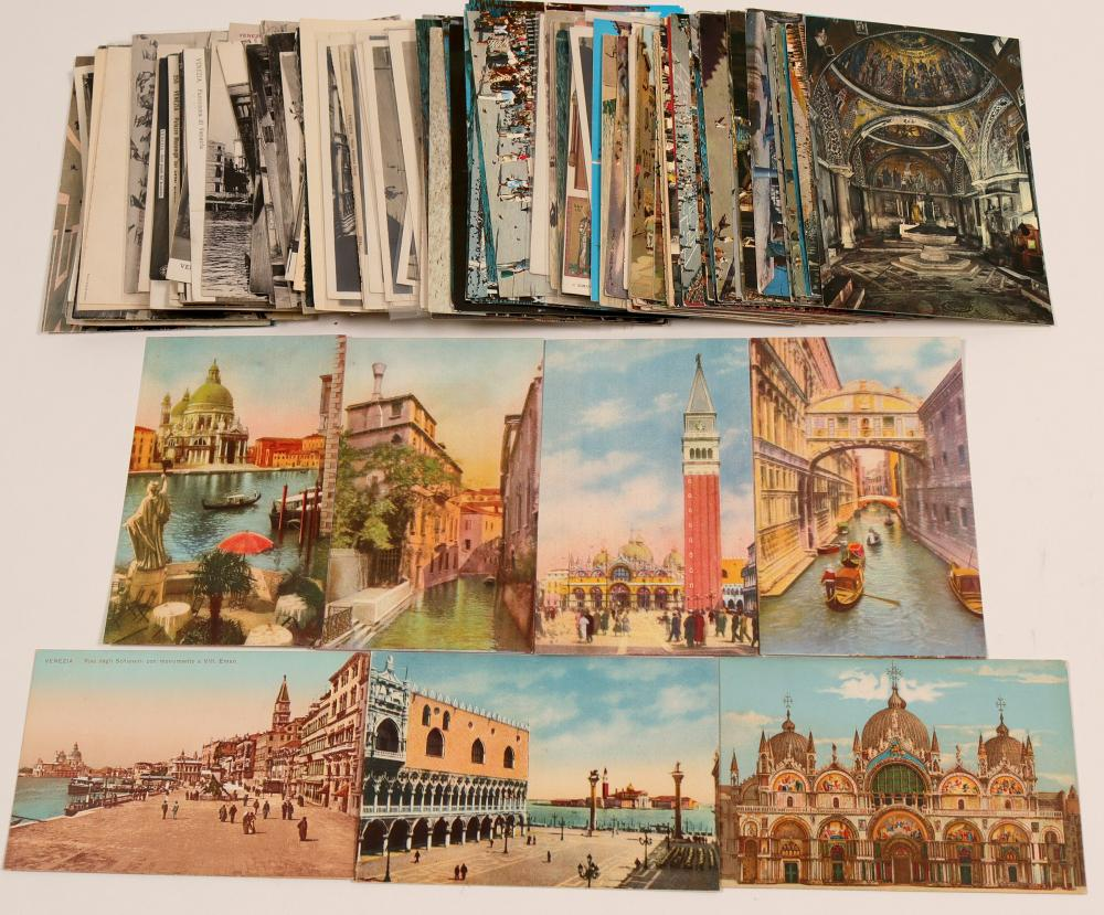 Lot 1087: Venice Postcards (105180)