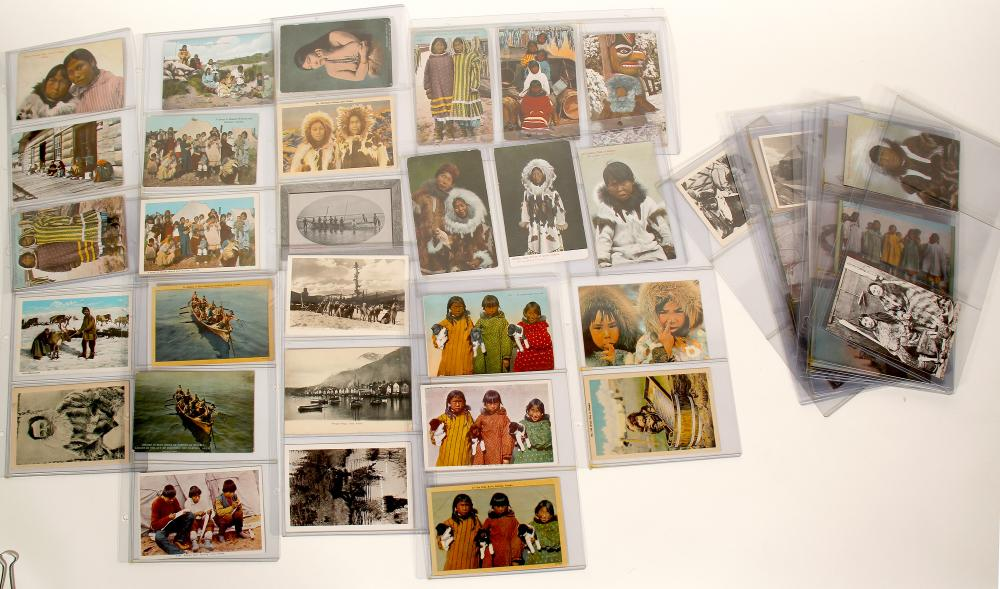 Lot 1118: Native American photos and Postcards from Alaska (91448)