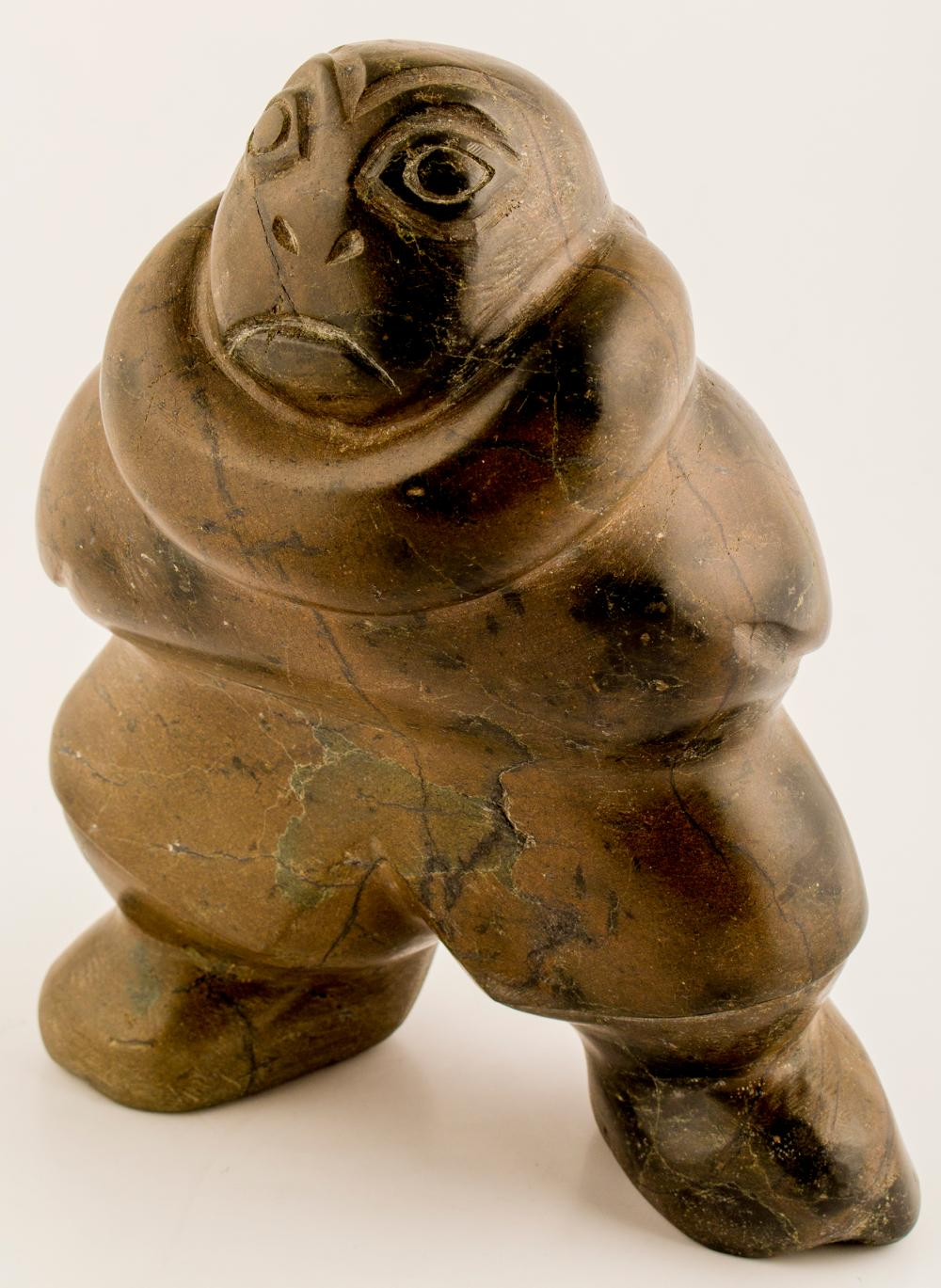 Stylized Inuit Sculpture   (50546)