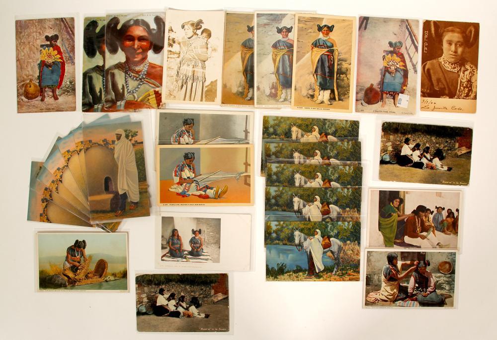 Lot 1122: Hopi Moki Women Post Cards (100528)