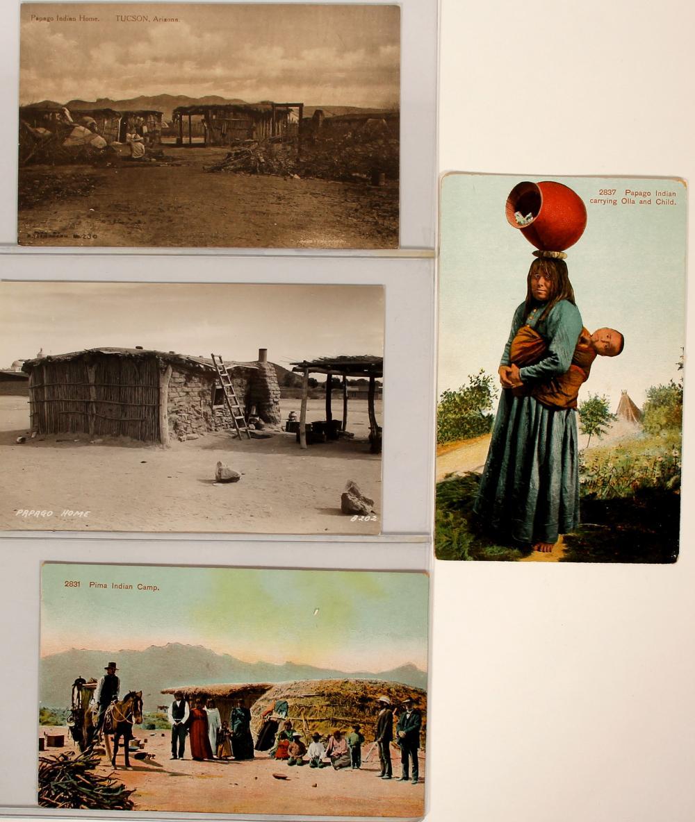 Pima and Papago Indians   (91441)
