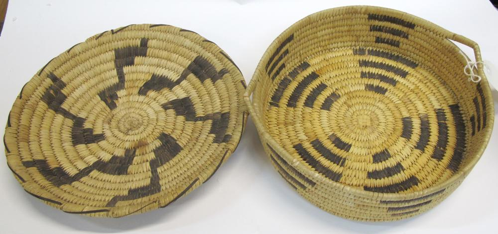 Two Akimel O'odham Baskets   (54853)