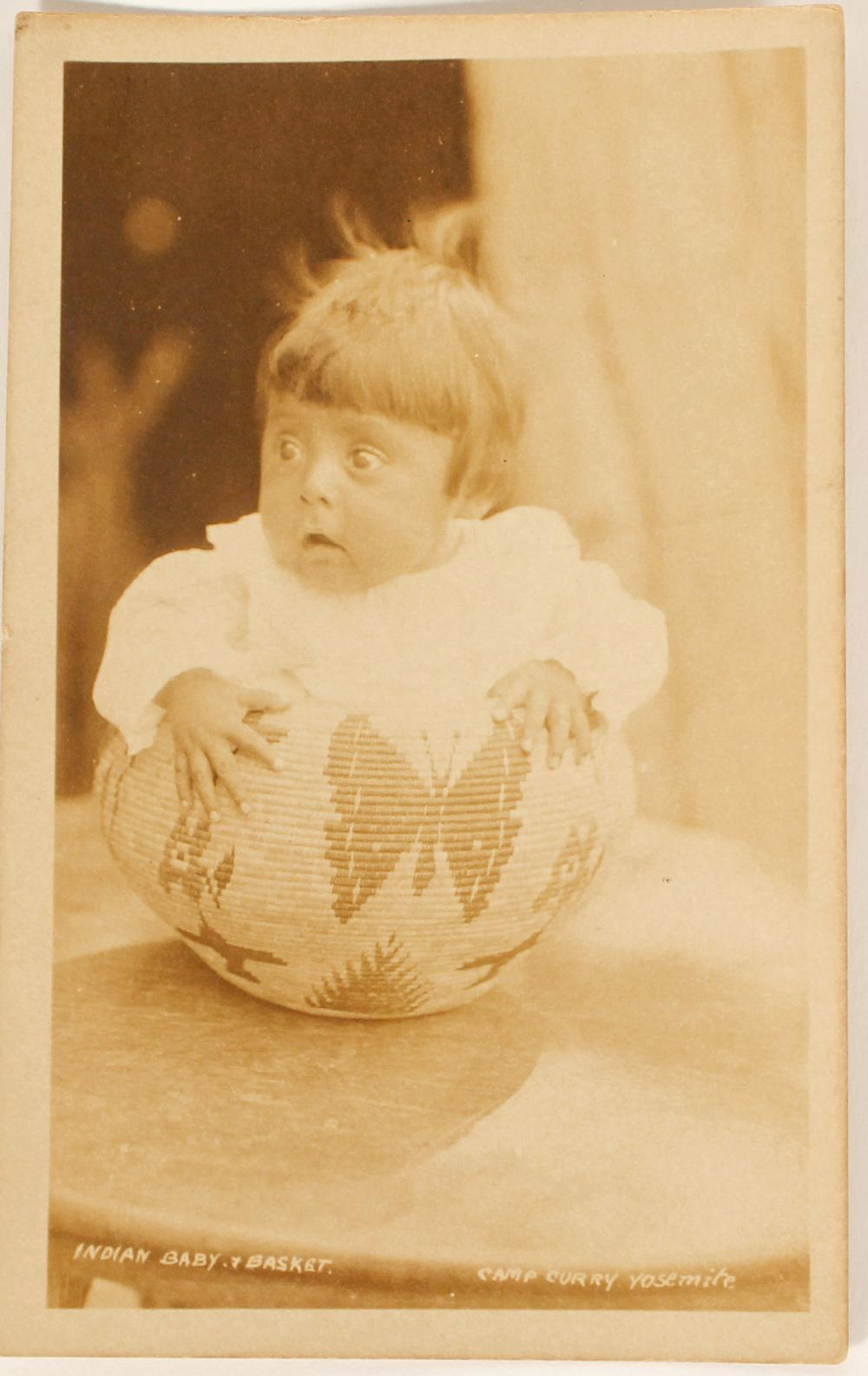 Lot 1132: Baby in Basket RPC from Yosemite N.P. (91415)