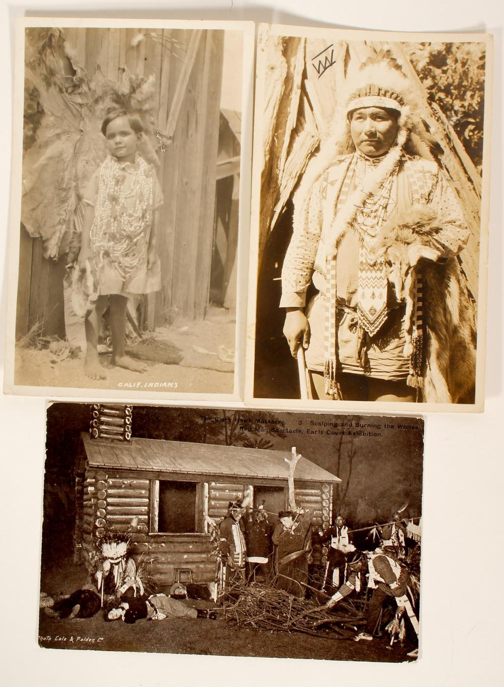 Three Indian Post Cards   (100531)