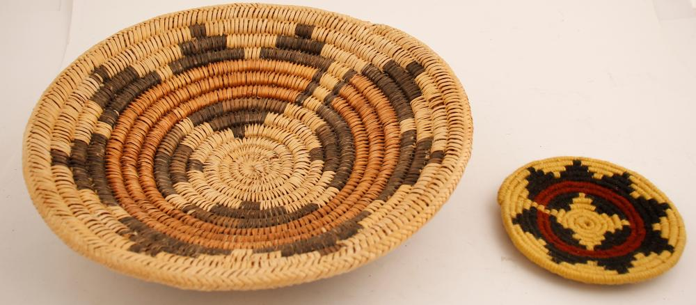 Lot 1125: Navajo Wedding Baskets (63872)