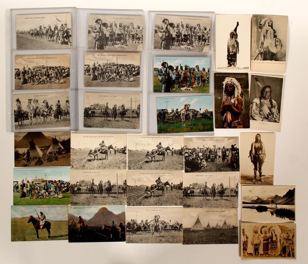 Blackfoot Tribe Postcards   (91434)