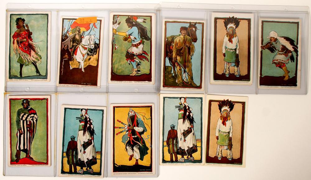 Native American Postcards - Pueblo History   (91418)