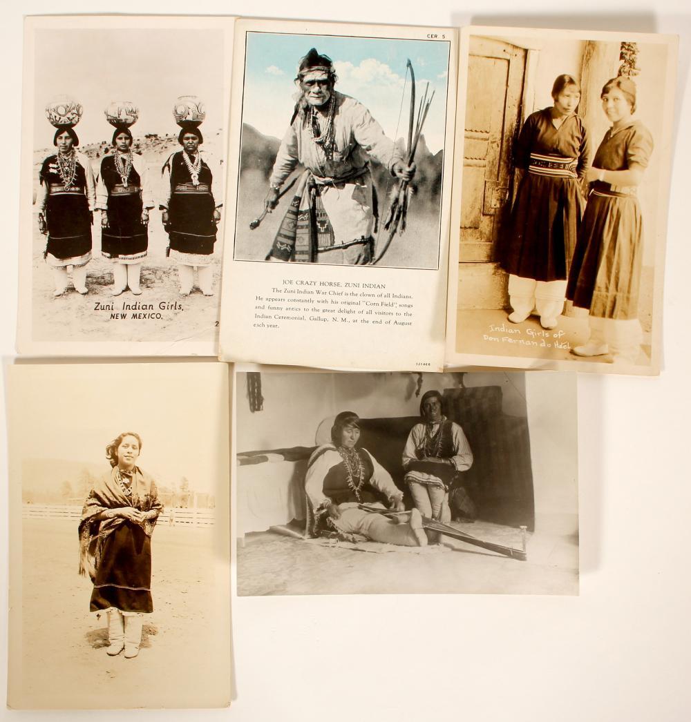 Zuni Indian Post Cards   (100529)