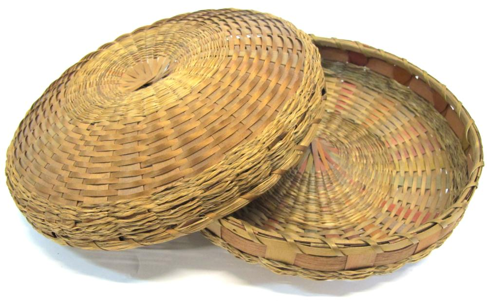 Antique Micmac Basket    (54863)