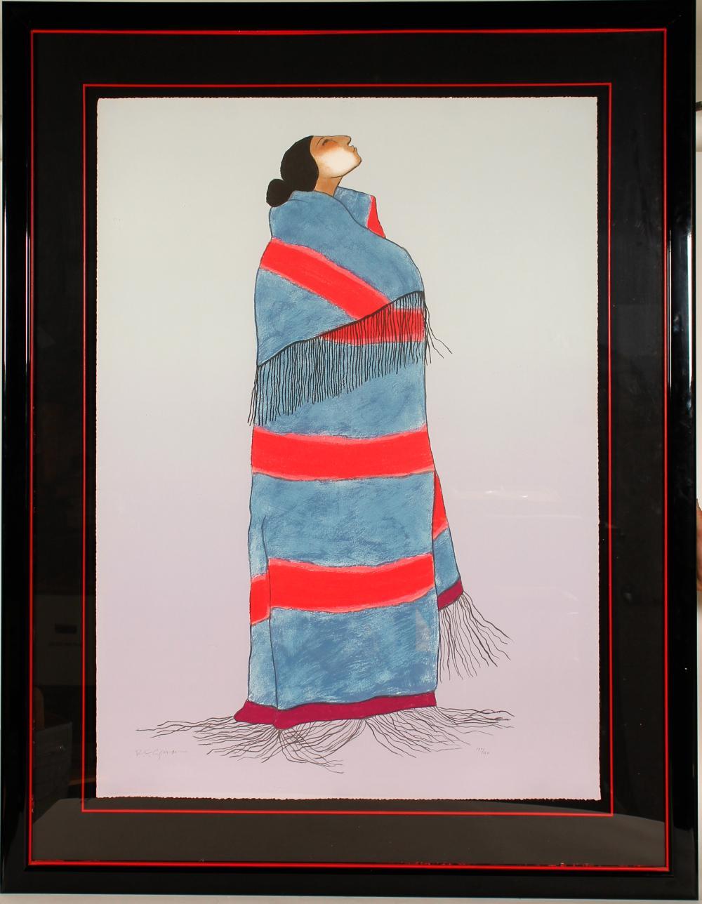Carol's Blanket - Serigraph by RC Gorman   (101041)