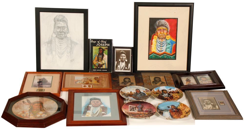Chief Joseph Ephemera Collection   (101047)