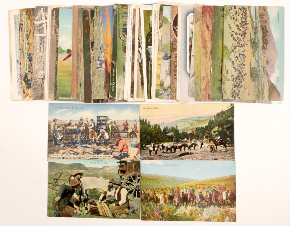 Lot 1199: Cowboy Card collection (104939)