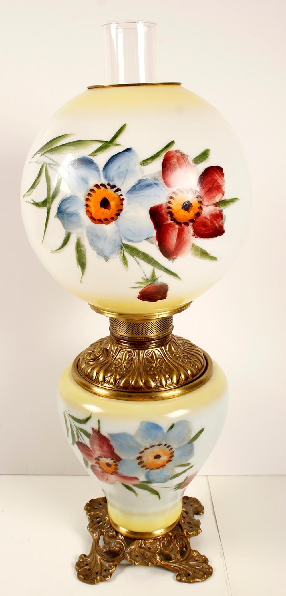 Fostoria Oil Lamp   (76368)