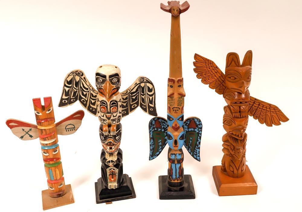 Alaskan Totem Collection (4) [139350]