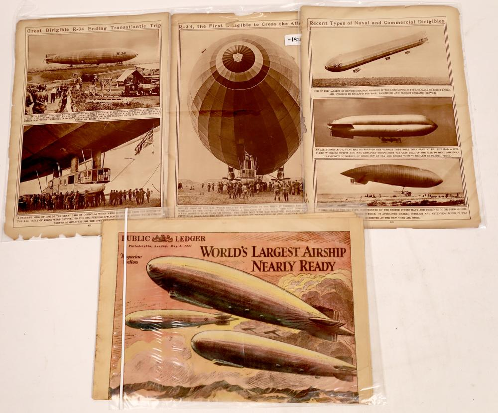 Airship and Flight in Print [140013]