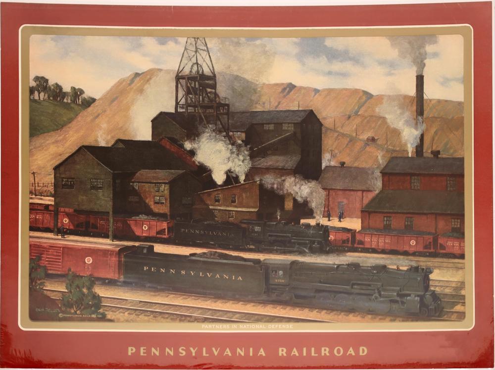 Pennsylvania Railroad in Prints [139721]