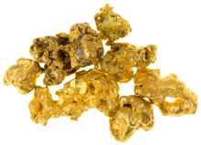 Seven Arizona Gold Nuggets