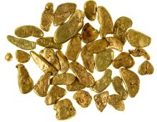 Placer Gold Found on the North Fork of the Yuba River