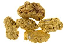 El Paso Mountain Gold Nuggets