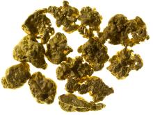 Nice Selection of Small Gold Nuggets from the El Paso Mountains