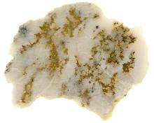 Jewelry Grade Gold-in-Quartz