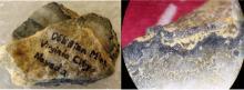 Obiston Mine Gold Specimens (Comstock, Nevada)