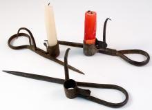 Three Miners Candlesticks