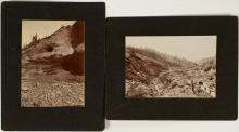 Two Hydraulic Mining Photographs