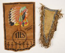 Beaded and Fringed Holster