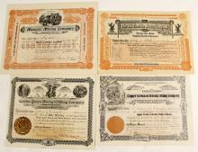 Four Dragoon District Stock Certificates